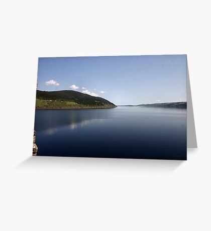 Loch Ness reflections Greeting Card