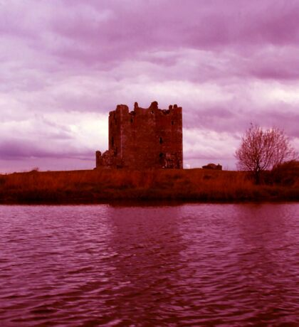 Enhanced Threave Castle Scotland Sticker