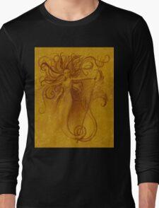 Gold Siren Long Sleeve T-Shirt