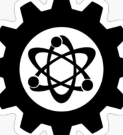 Technomage Industries Steampunk Cog - plain outline Sticker