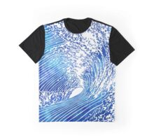 Blue Wave II Graphic T-Shirt