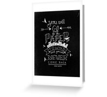 Paper Towns Greeting Card