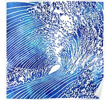 Blue Wave II Poster