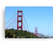 San Francisco Golden Gate Canvas Print