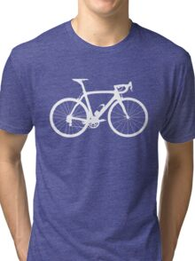 Bike White (Big) Tri-blend T-Shirt