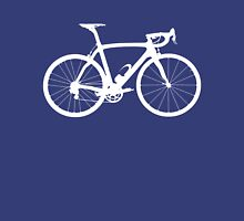 Bike White (Big) Unisex T-Shirt