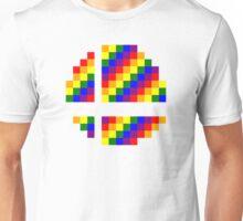 Rainbow 8-Bit Smash Ball Unisex T-Shirt