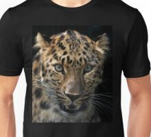 face to face with the panther Unisex T-Shirt