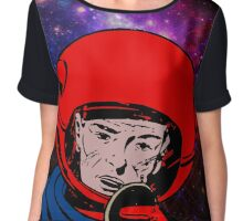 spaceman in space Chiffon Top