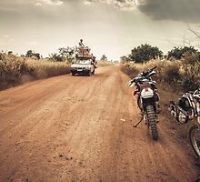 Cambodia Dirt Riding by kotchenography