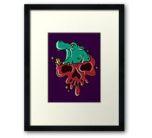 Poisoned Petunia Framed Print