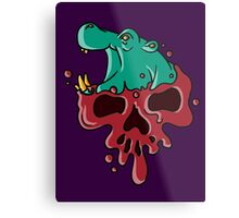 Poisoned Petunia Metal Print