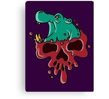 Poisoned Petunia Canvas Print