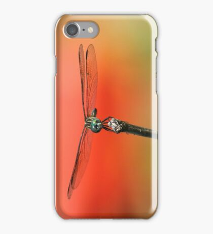 Dragonfly in The Garden iPhone Case/Skin
