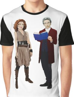 12th Doctor and River Song Graphic T-Shirt