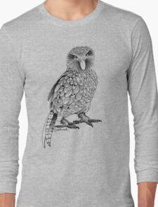 Kakapo - King of the Parrots Long Sleeve T-Shirt