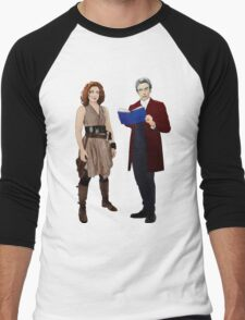 The Doctor and River Song Men's Baseball ¾ T-Shirt
