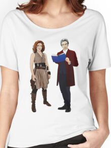 12th Doctor and River Song Women's Relaxed Fit T-Shirt