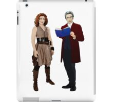 The Doctor and River Song iPad Case/Skin