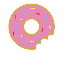 Donut with Sprinkles Photographic Print