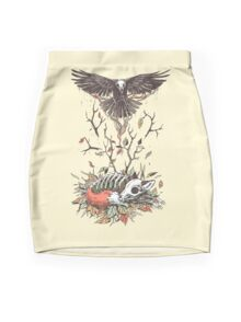 Eternal Sleep Mini Skirt