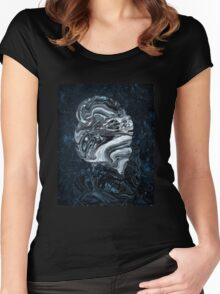 Portrait of a Young Lady as an Expanding Universe Women's Fitted Scoop T-Shirt