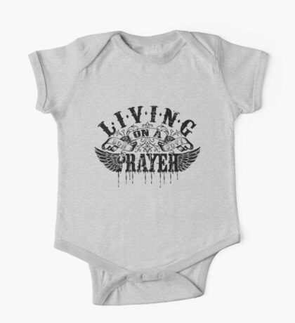 Living On A Prayer One Piece - Short Sleeve