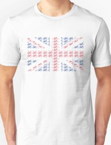 Bike Flag United Kingdom (Small) Unisex T-Shirt