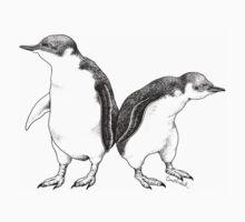 Little Blue Penguins - smallest penguin in the world! Baby Tee