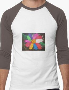 Colours of Spring Men's Baseball ¾ T-Shirt