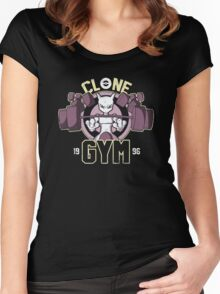 Clone Gym Women's Fitted Scoop T-Shirt