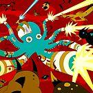 Cyborg Octopus by Marta Tesoro