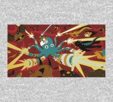 Cyborg Octopus One Piece - Short Sleeve