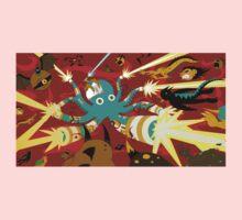 Cyborg Octopus One Piece - Long Sleeve