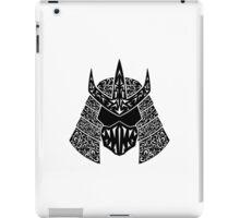 Shred Head (black) iPad Case/Skin