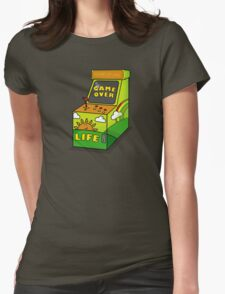 LIFE its not a game Womens Fitted T-Shirt