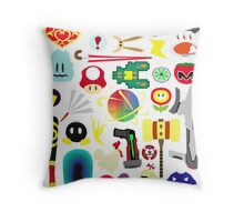 Choose Your Weapon! (SSB Items) Throw Pillow