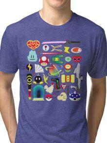 Choose Your Weapon! (SSB Items) Tri-blend T-Shirt