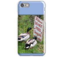 """Hey, Drake, Read the Bottom Line!"" iPhone Case/Skin"