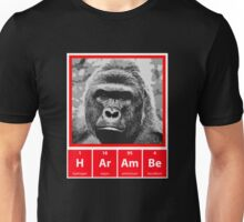 Harambe - Periodic Table Elements Unisex T-Shirt