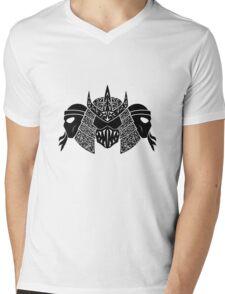 Foot Clan (black) Mens V-Neck T-Shirt