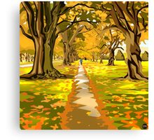 Hagley Park Walk Canvas Print