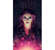 abstract female portrait Photographic Print