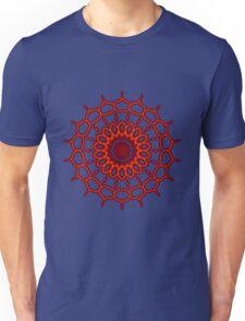 Teardrop Fractal Mandala Unisex T-Shirt