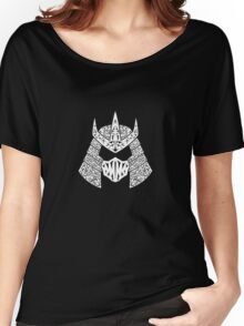 Shred Head (white) Women's Relaxed Fit T-Shirt