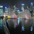 Marina Bay, Singapore. (2) by Ralph de Zilva
