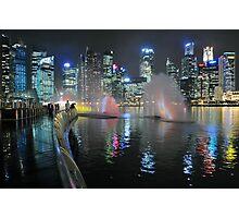 Marina Bay, Singapore. (2) Photographic Print