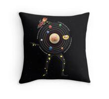 DHMIS 6 - Space Guy Don't Hug Me I'm Scared Throw Pillow