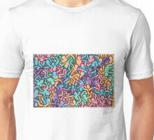 Keith Haring Movement Unisex T-Shirt