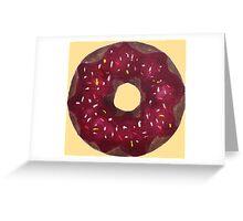 Decadent Donut Greeting Card